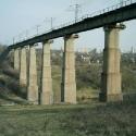 Кривий Ріг. Найвищий залізничний міст у Європі.