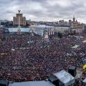 Панорама Майдану Незалежності на всенародному віче 8 грудня 2013 року. airpano.ru