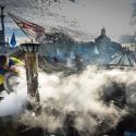 Наметове містечко в центрі Києва 10 грудня 2013 року. Автор: Олексій Куденко, РІА Новості