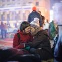 За годину до кривавого побиття студентів на Майдані, 30 листопада 2013 року. Автор: Олександр Пілюгін