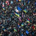 Сотні тисяч людей прийшли на всеукраїнське віче 8 грудня 2013 року. Автор: Віталій Раскалов