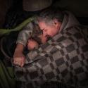 Люди сплять у залах КМДА, 19 грудня 2013 року. Автор: Влад Содель