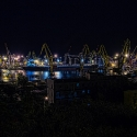 Нічна Одеса. Порт