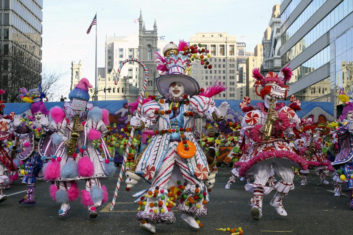 перший Новорічний парад