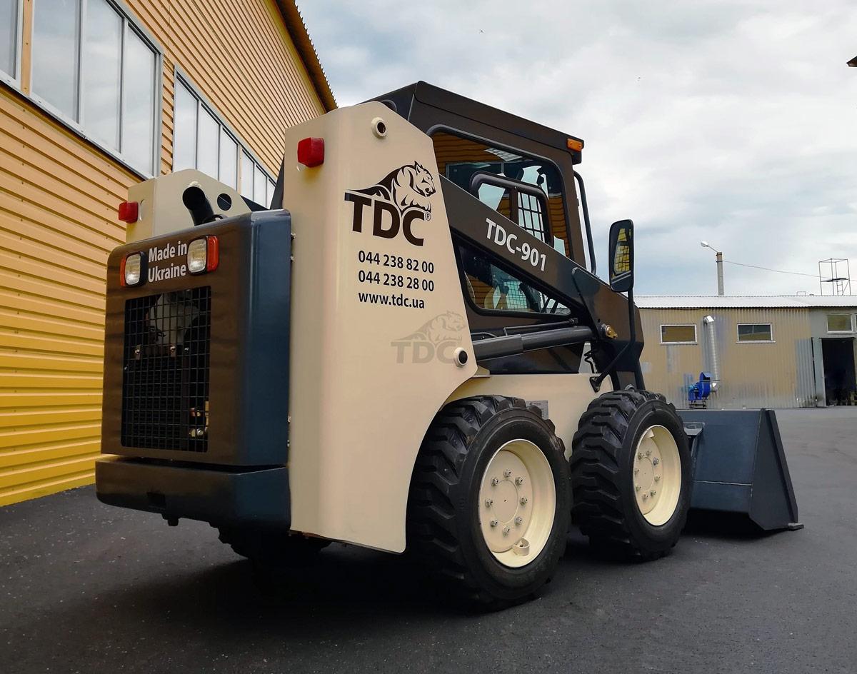 міні-навантажувач TDC-901