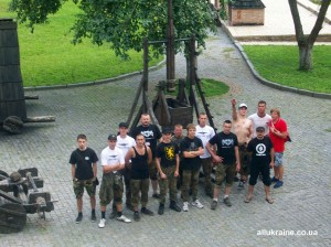 Екскурсія хлопців з ПУ у Луцький замок